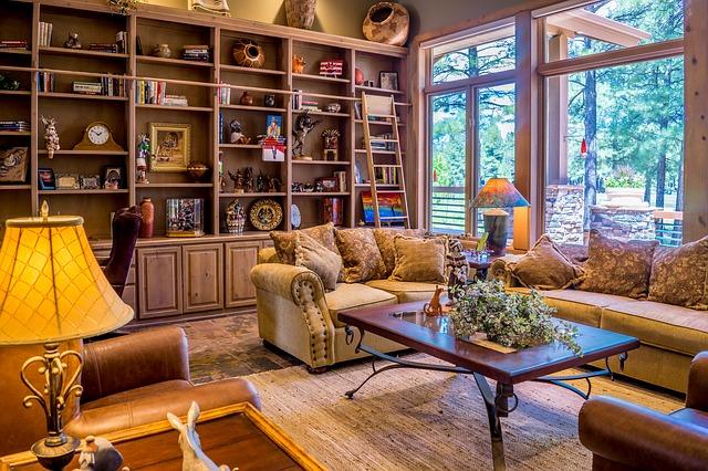 interiér obývací pokoj