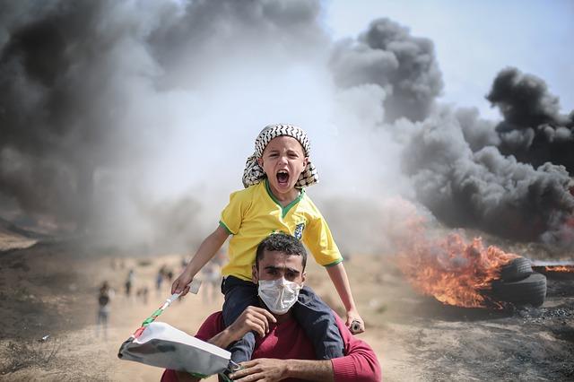 palestinské boje