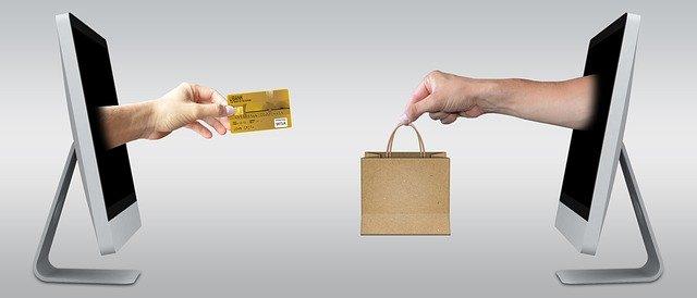 platba kartou za zboží přes internet