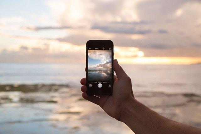 fotografování smartphonem